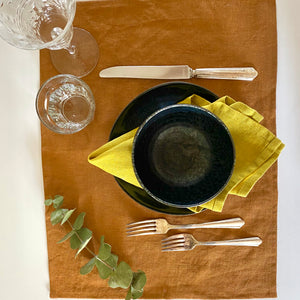 Napkin/Placemat - Mustard Yellow