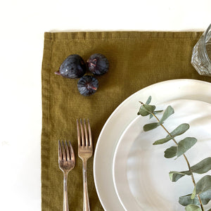 Napkin/Placemat - Olive