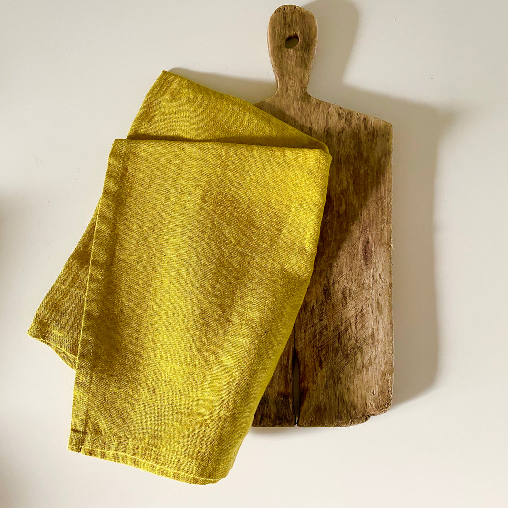 Tea Towel - Mustard