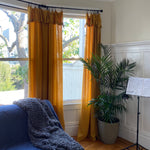 Sheer Cotton Gauze Window Curtains