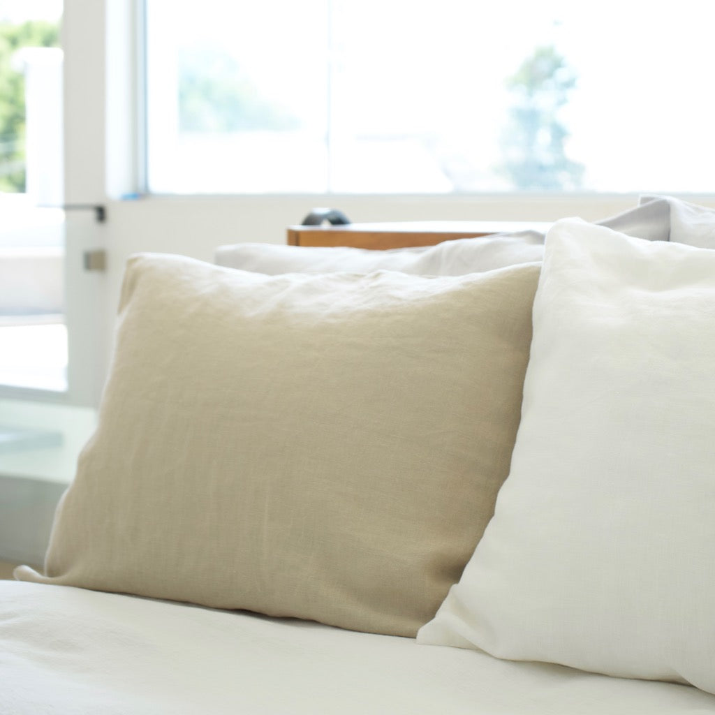 Linen Pillow Case - Natural Linen