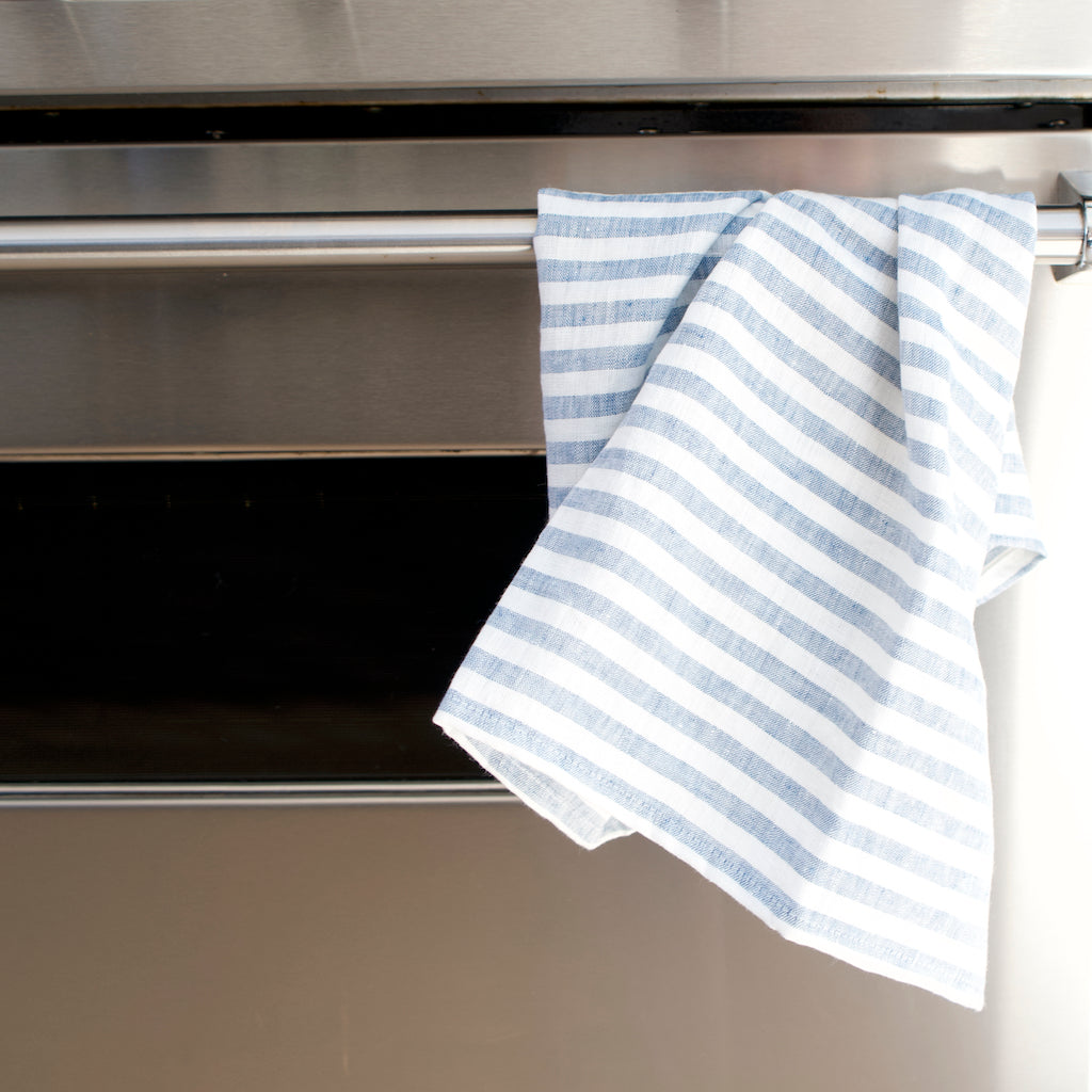 Tea Towel - Blue Stripe
