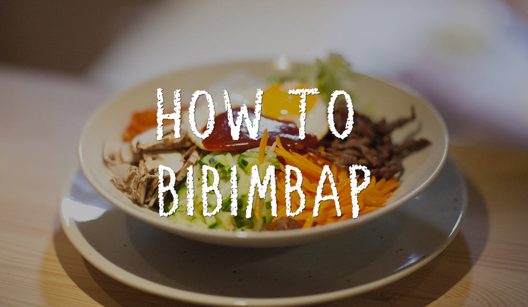 How to Bibimbap