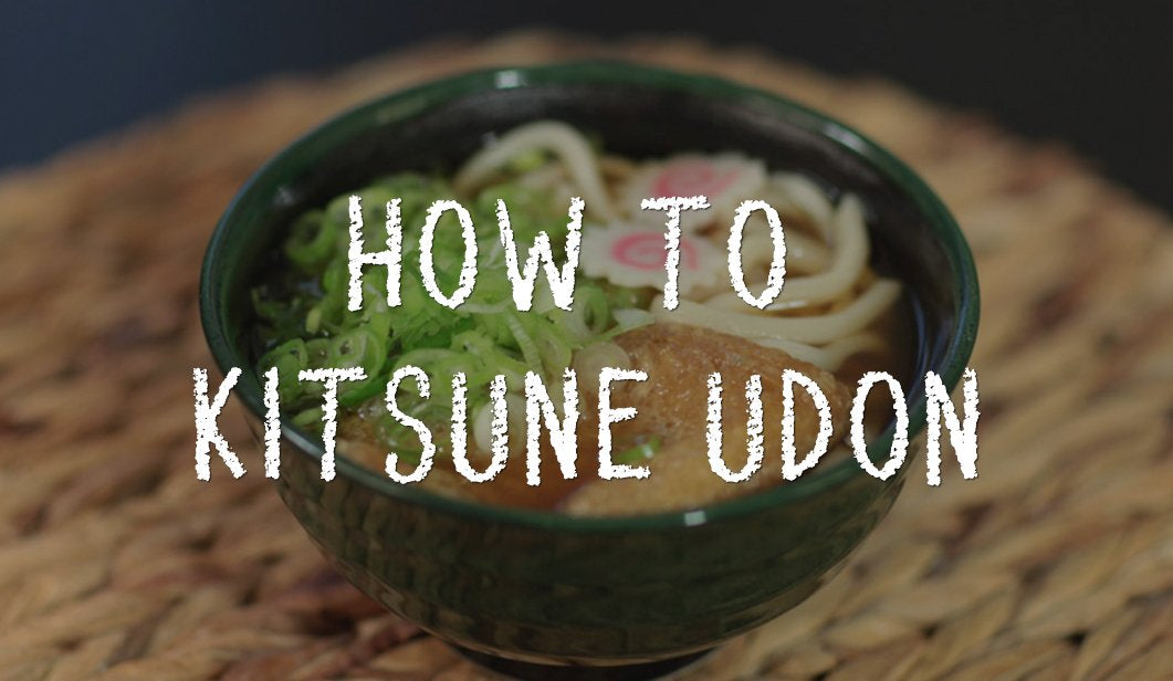 How to Kitsune Udon