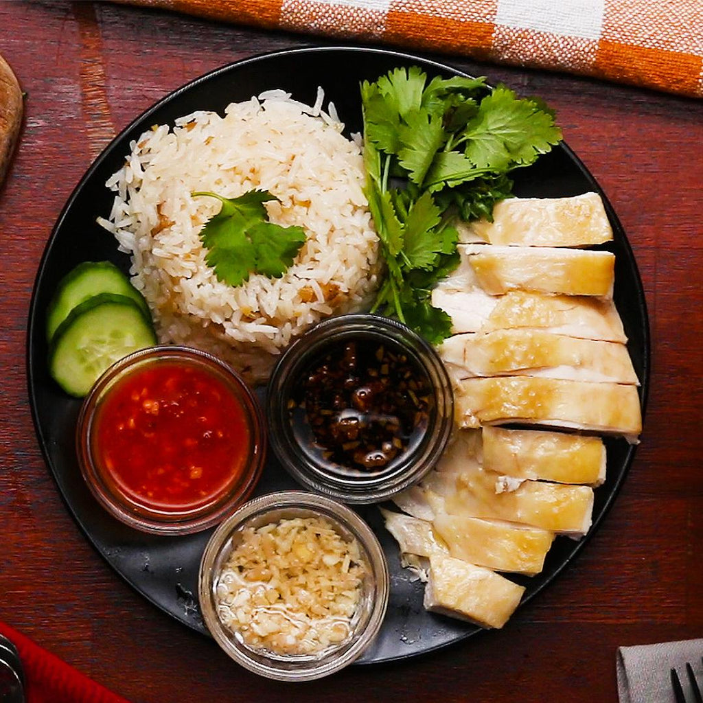 Hainanese Chicken Rice Kochkurs in Englisch/Deutsch