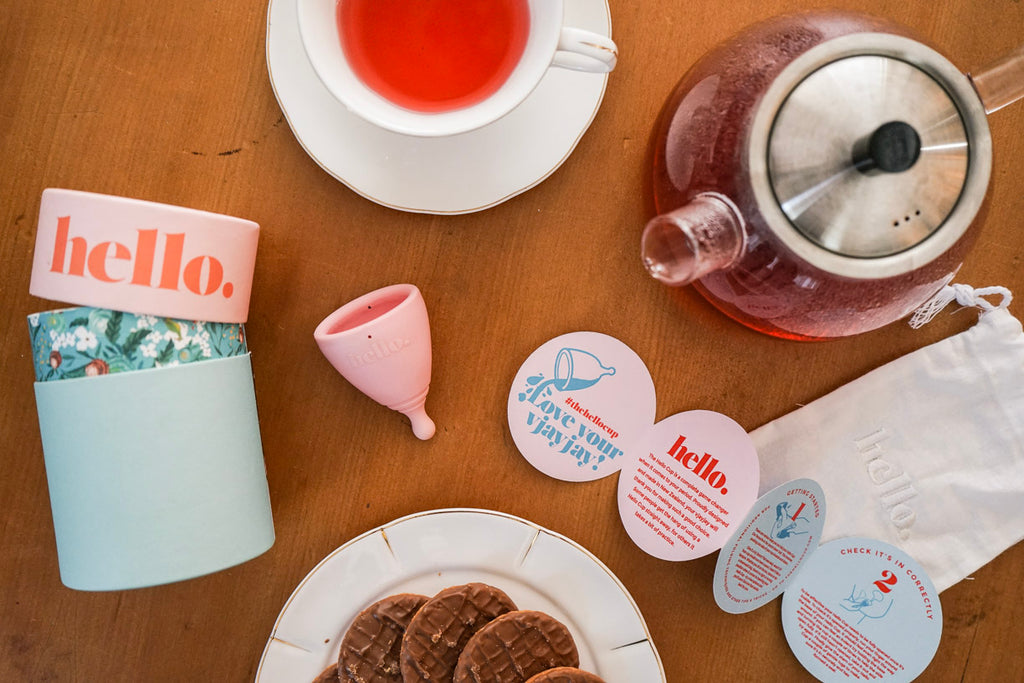 Zero Waste Period The Hello Cup menstrual cups New Zealand