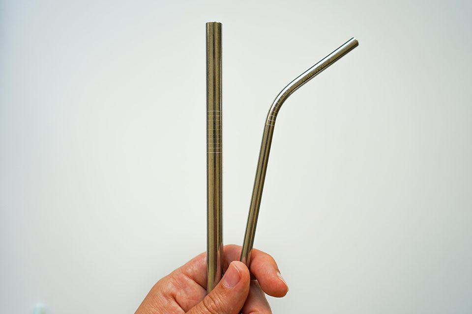 CaliWoods Metal reusable Straw