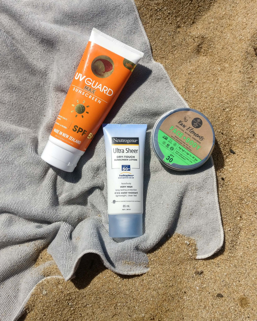Reef Safe Plastic Free Zero Waste Sunscreen New Zealand