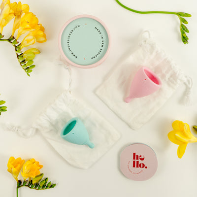Hello Menstrual Cup Double Box