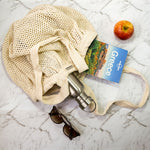 Organic Star Net Bag Long Handles