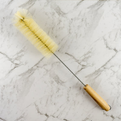 Wire Bottle Brush Wooden Handle