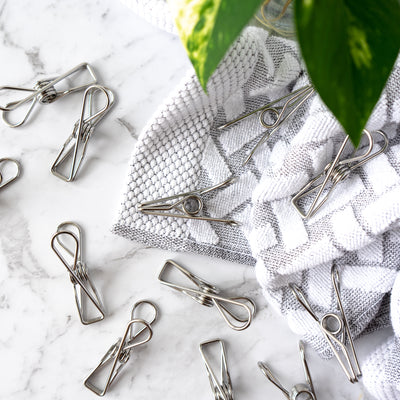 Stainless Steel Clothing Pegs