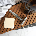 Stainless Steel Safety Razor 'Flagship' - Butterfly