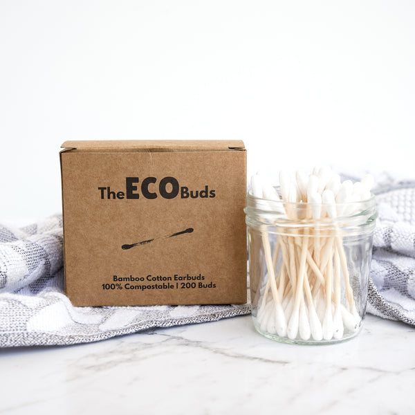 Compostable Buds - Bamboo Cotton