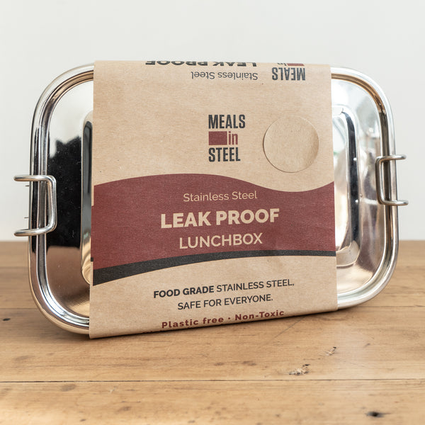 Stainless Steel Leak Proof Lunchbox Large