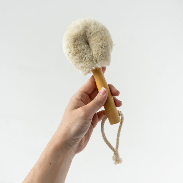 Dry Face Brush Soft Jute