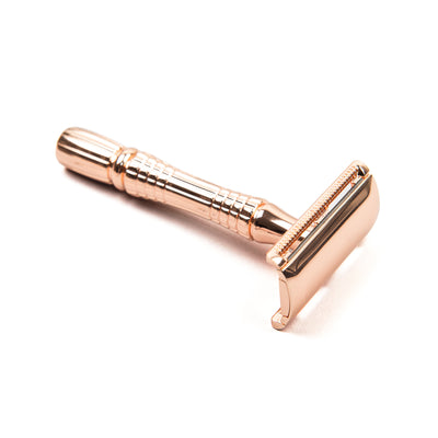 Copper Stainless Safety Razor - 3 piece