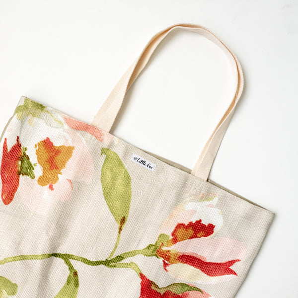 Little Eco recycle tote bag reusable New Zealand NZ plastic free zero waste store The Eco Society