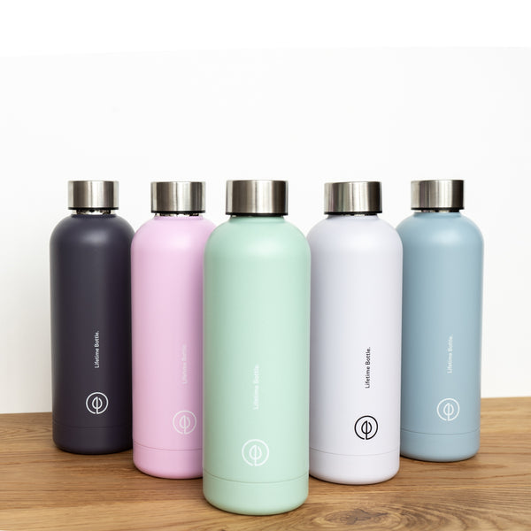 Stainless Steel Reusable drink bottle NZ GoodFor Store lifetime bottle Plastic Free