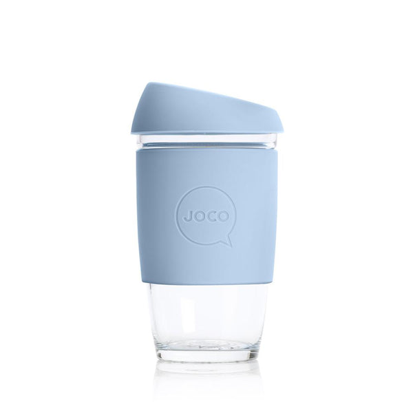 JOCO Glass Reusable Coffee Cup 6oz plastic free zero waste nz