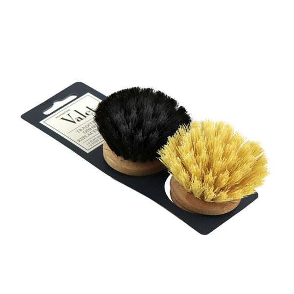 Wooden Dish Brush Heads 2PK