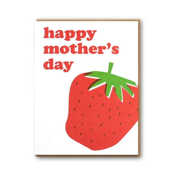 Happy Mother's Day Strawberry Card by 1973