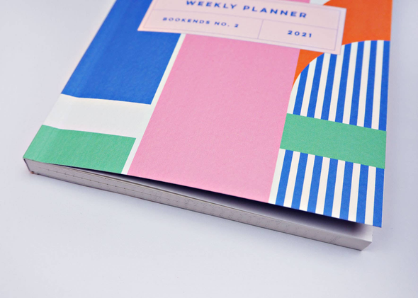 2021 Monthly & Weekly Planner by The Completist