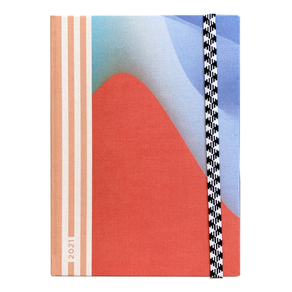 2021 Weekly Le Rendez-Vous Waves Planner by Papier Tigre