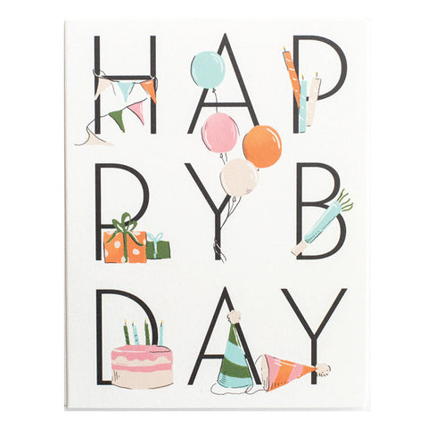 Amy Heitman HAPPY BDAY Card
