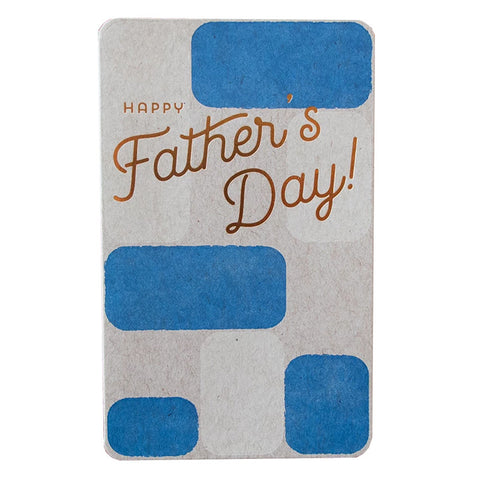 Block Father's Day Card by Anemone Letterpress