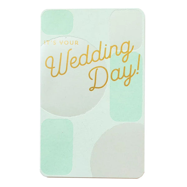 Orb Wedding Day Card by Anemone Letterpress