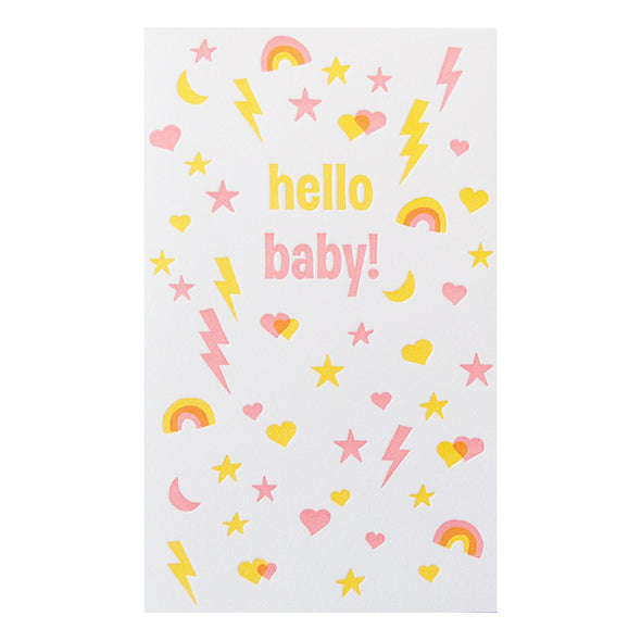 Busy Baby Card by Anemone Letterpress