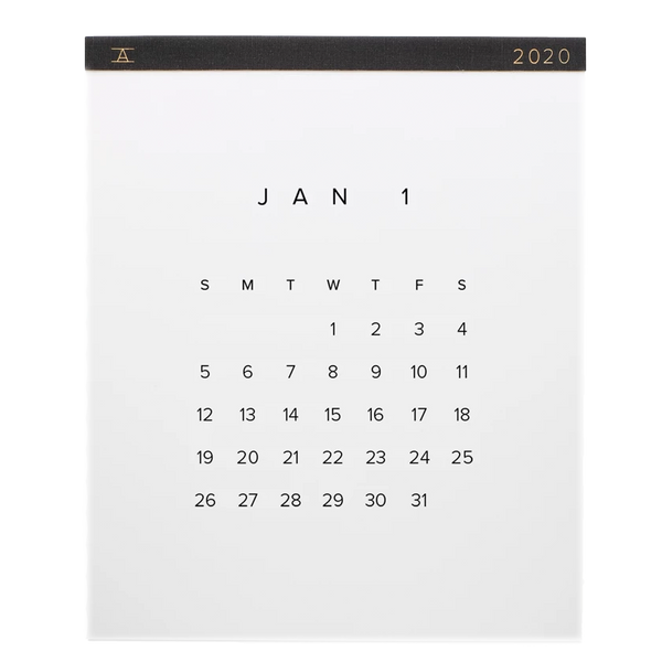 2020 Wall Calendar by Appointed