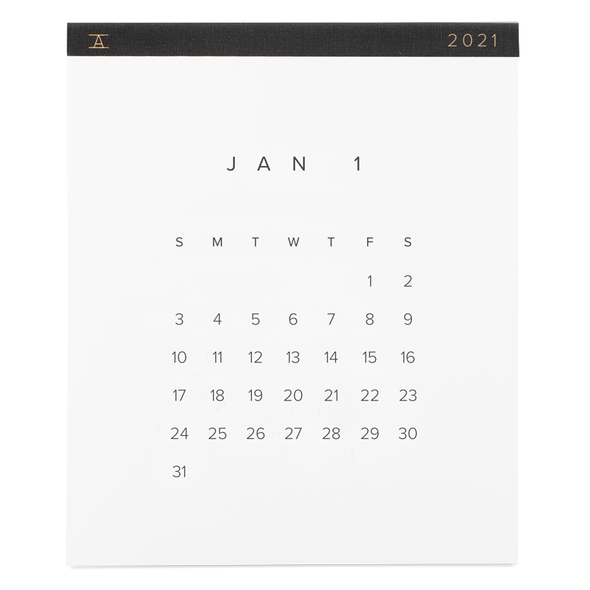 Appointed 2021 Wall Calendar