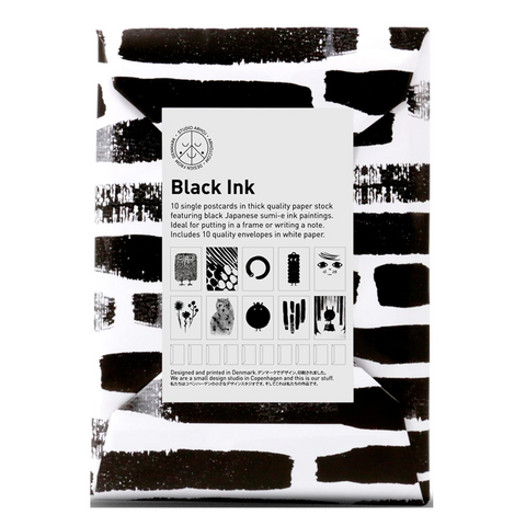 Black Ink Paper Pack by Studio Arhoj