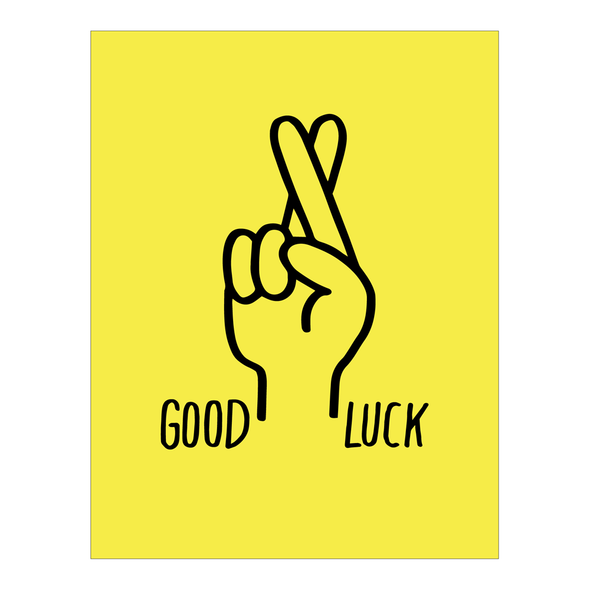 Good Luck Card by Ashkahn