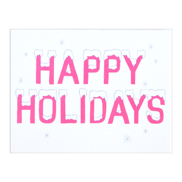 Happy Holidays Card by Banquet Workshop