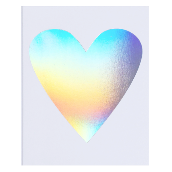 Hologram Heart Card by Banquet Workshop