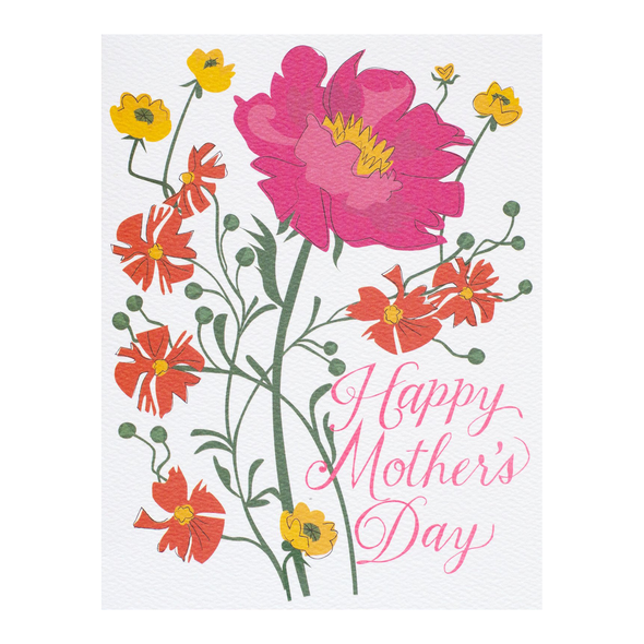 Happy Mother's Day Floral Card by Banquet Workshop