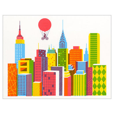 New York Screenprint by Boyoun Kim