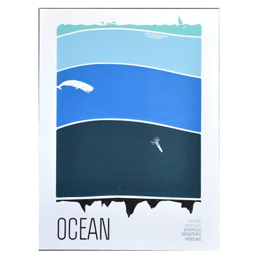 Ocean 18x24 Print by Brainstorm