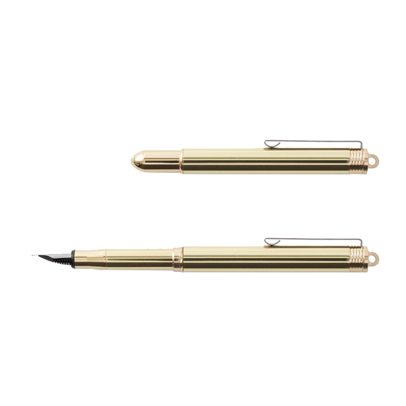 Brass Fountain Pen by Traveler's Company