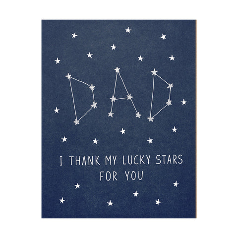 Lucky Stars Dad Card by Lucky Horse Press