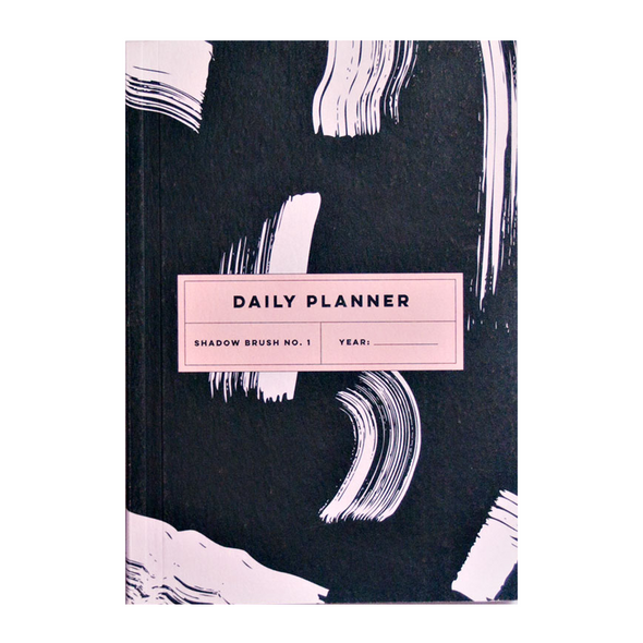 Daily Planner Book by The Completist