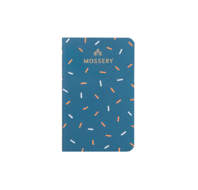 Confetti Pocket Notebook by Mossery