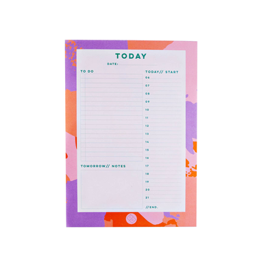 Daily Planner Pad by The Completist