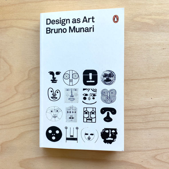 Design as Art by Bruno Munari
