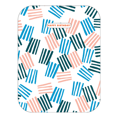 Awning Stripes Birthday Card by Egg Press