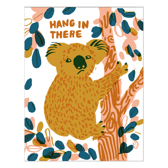 Hang in There Koala Card by Egg Press