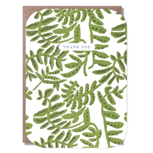 Vines Thank You Card by Egg Press
